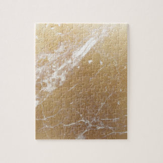gold marble jigsaw puzzle