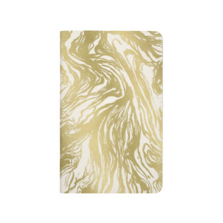 Gold Marble Journal