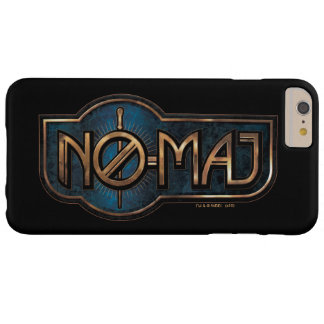 Gold & Marble No-Maj Badge Barely There iPhone 6 Plus Case