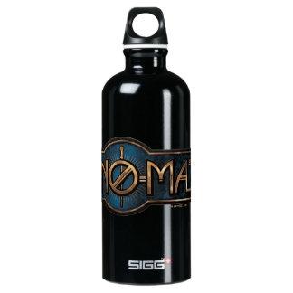 Gold & Marble No-Maj Badge Water Bottle