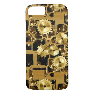 Gold Mechanical Gears iPhone 7 Case