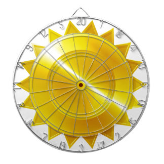 Gold Medal Award Icon Dartboard