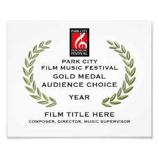 "Gold Medal Certificate 10"" x 8"" Photo Print"