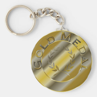 Gold Medal Keychain