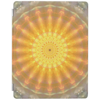 Gold Medallion Mandala iPad Cover