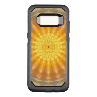 Gold Medallion Mandala OtterBox Commuter Samsung Galaxy S8 Case