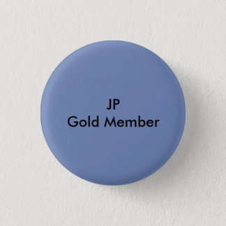 Gold Member 1 Inch Round Button