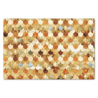 Gold Mermaidscales Mermaid Fishscales Scales Tissue Paper