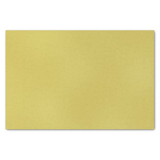 Gold Metal-Colored Tissue Paper