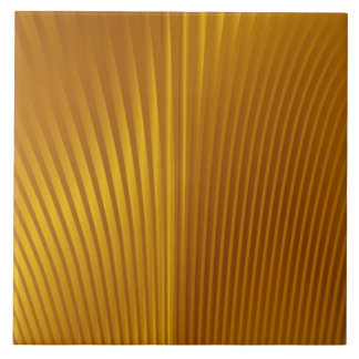 Gold Metal Deco Patterns Tile