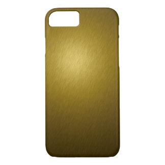Gold Metal iPhone 7 Case