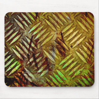 Gold Metal Mouse Pad