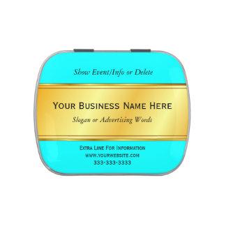 Gold Metallic Border Business Promotion Pick Color