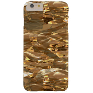 Gold Metallic Foil-effect Barely There iPhone 6 Plus Case