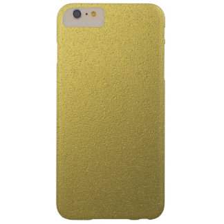 Gold Metallic Foil Effect Barely There iPhone 6 Plus Case