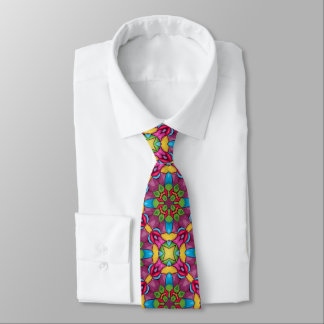 Gold Miner Tiled Colorful Ties