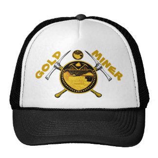 Gold Miner Trucker Hat