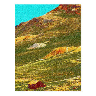 Gold Miner's Cabin Postcard
