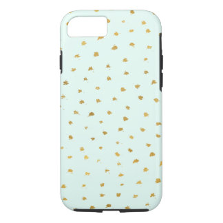 Gold Mint Glam Dot Chic iPhone 8/7 Case
