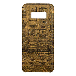 Gold mobile phone icons Case-Mate samsung galaxy s8 case