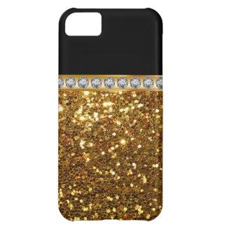 Gold Monogram iPhone 5C Cases