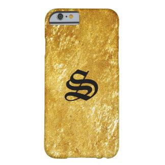 Gold Monogram iPhone 6 Case