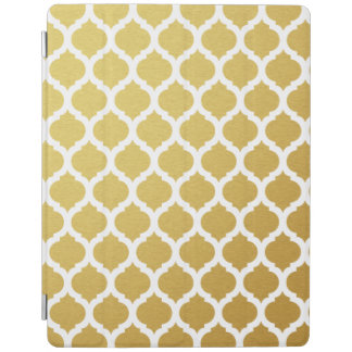 Gold Moroccan Pattern iPad Case iPad Cover