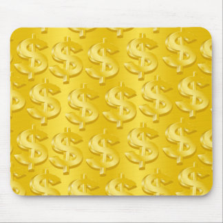 $ Gold $ Mouse Pad