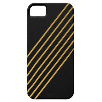 Gold Multi-Stripe iPhone 5 Cover
