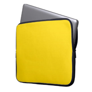 Gold Neoprene Laptop Sleeve 15 inch