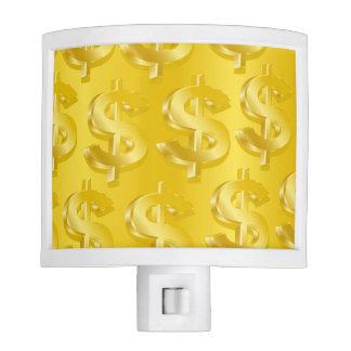 $ Gold $ Night Light