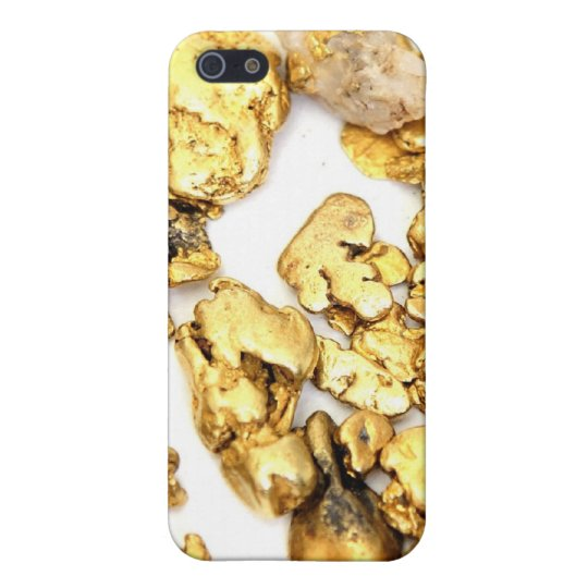 Gold Nugget iPhone 5 Covers