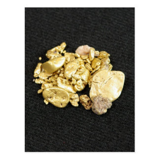 Gold Nuggets Postcard