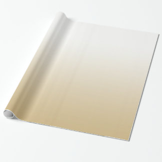 Gold Ombre Wrapping Paper