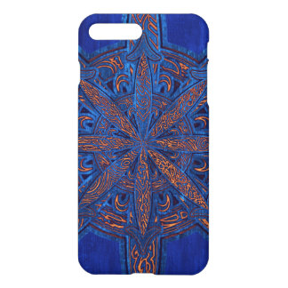 Gold on Blue Chaos iPhone 8 Plus/7 Plus Case
