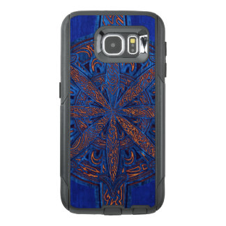 Gold on Blue Chaos OtterBox Samsung Galaxy S6 Case