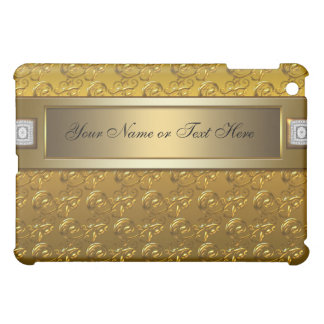 Gold on Gold Elegant Chic Gold  Cover For The iPad Mini