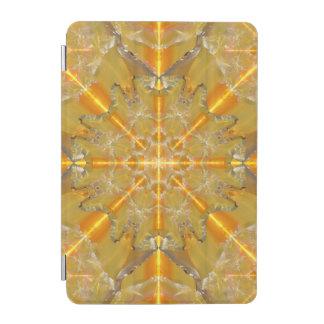 Gold Opal Star Mandala iPad Mini Cover