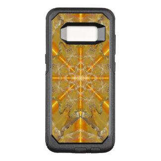 Gold Opal Star Mandala OtterBox Commuter Samsung Galaxy S8 Case