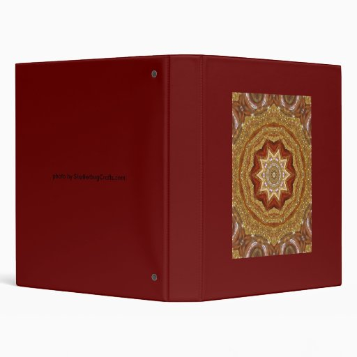 gold ornament artwork binders