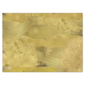 Gold Paint Tissue Paper