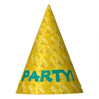 $ Gold $ Party Hat
