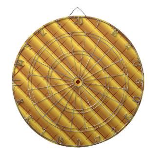 Gold Pattern Dartboard