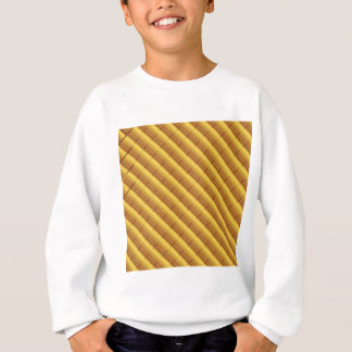 Gold Pattern Sweatshirt
