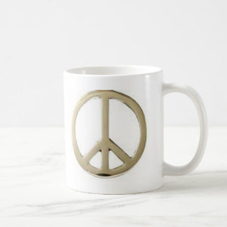 GOLD PEACE DESIGN MUG