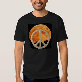GOLD PEACE MOON T-SHIRT