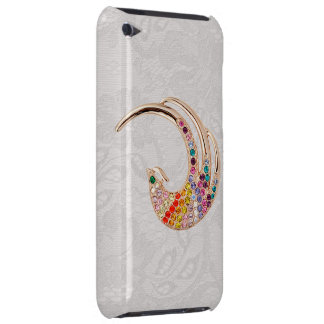 Gold Peacock & Jewels Paisley Lace iPod Touch Case