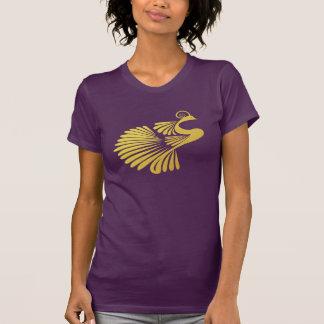 Gold Peacock Tshirts