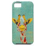 Gold Peeking  Giraffe  iPhone Case iPhone 5 Cases