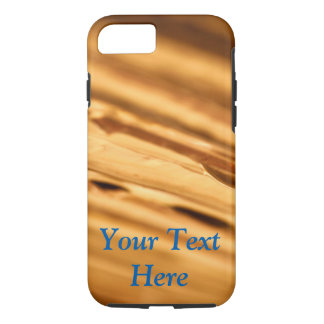 Gold Phone Case with Customizable Text